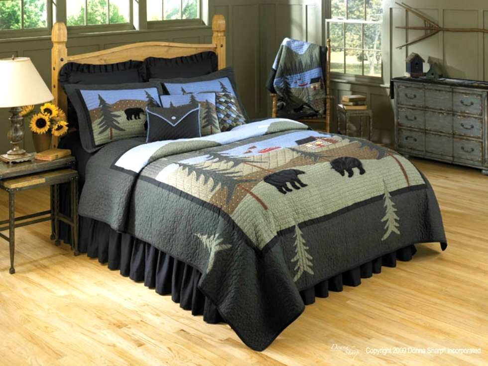 Bear Lake Quilt Collection by Donna Sharp   Donna Sharp Quilts Donna Sharp Quilts