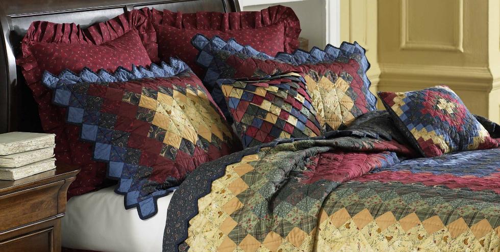 Chesapeake Trip Around The World Quilt Collection by Donna Sharp Donna Sharp Quilts