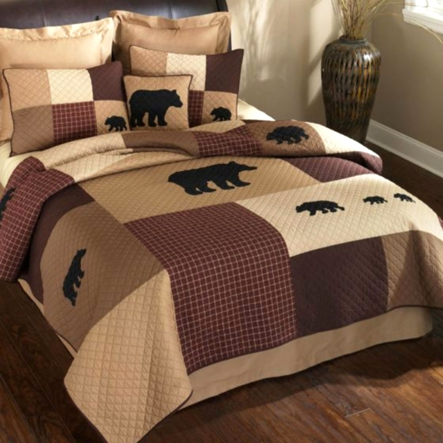 Logan Bear Quilt Collection by Donna Sharp | Logan Bear Donna Sharp | Donna Sharp | Donna Sharp Quilt Donna Sharp Quilts
