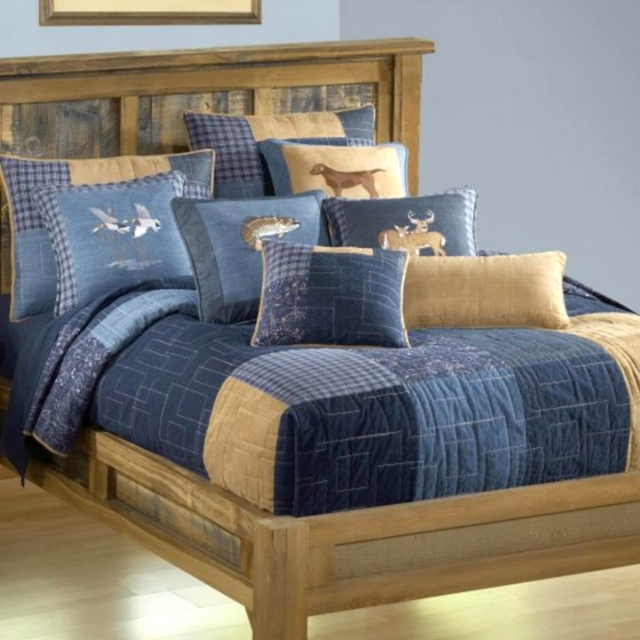 Denim Square Collection by Donna Sharp | Denim Donna Sharp | Donna Sharp | Donna Sharp Quilt Donna Sharp Quilts