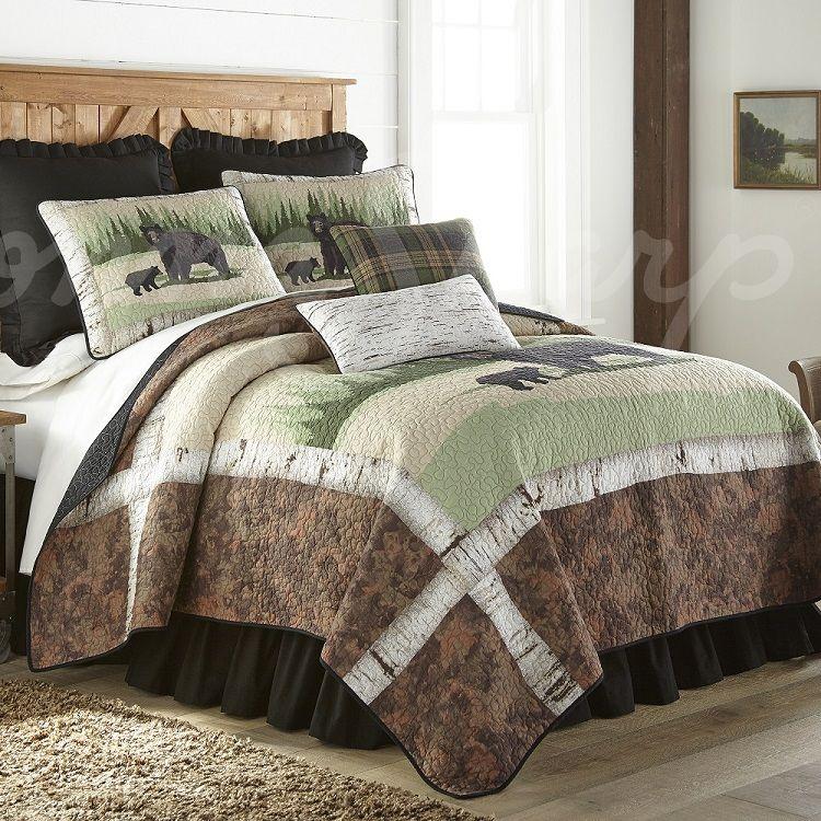 Birch Bear Quilt Collection by Donna Sharp Donna Sharp Quilts