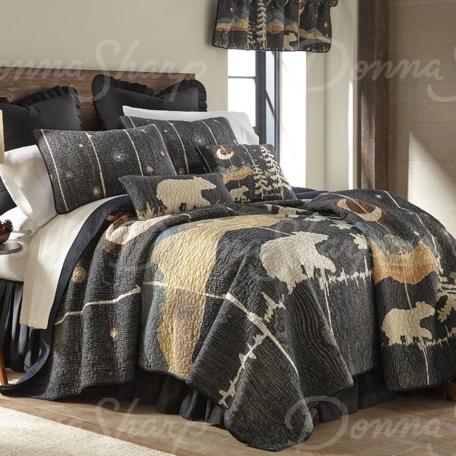 Moonlit Bear Quilt by Donna Sharp Donna Sharp Quilts