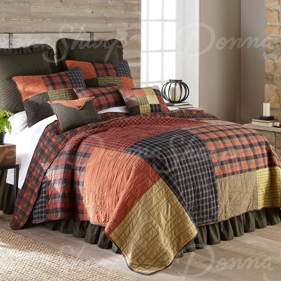 Woodland Square Quilt Collection by Donna Sharp Donna Sharp Quilts